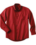 Men's Tal`Long Sleeve Easy Care Twil`Shirt
