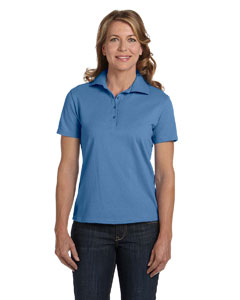 Ladies  7 oz. ComfortSoft® Cotton Pique Polo