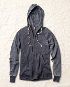 Burnout Fleece Zip Hoodie