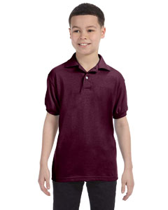 Youth  5.5 oz. 50/50 EcoSmart® Jersey Knit Polo