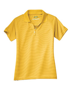 Ladies Pin Dot Jacquard Polo