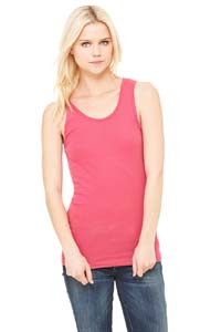 Ladies  5.8 oz. 1x1 Baby Rib Widestrap Tank