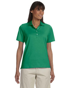 Ladies  High Twist Cotton Tech Polo