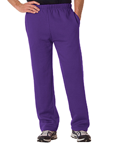Adult Open-Bottom Fleece Pants