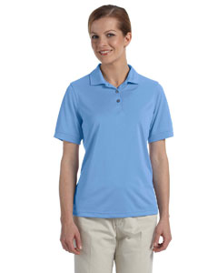Ladies  Performance Wicking Pique Polo
