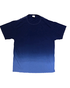 Adult 5.4 oz., 100% Cotton Ombre Dip-Dye T-Shirt