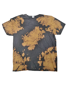 Adult 4.5 oz., 100% Ringspun Cotton Bleach-Out Tie-Dye T-Shirt