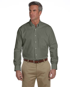 Men's  Solid Silky Poplin