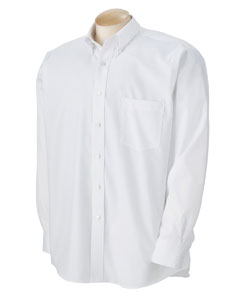Men's True Wrinkle-Free Cotton Pinpoint Oxford
