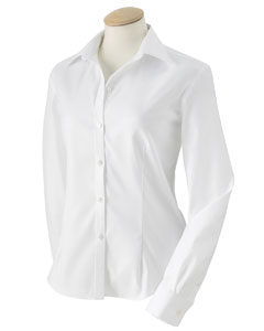 Ladies' True Wrinkle-Free Cotton Pinpoint Oxford