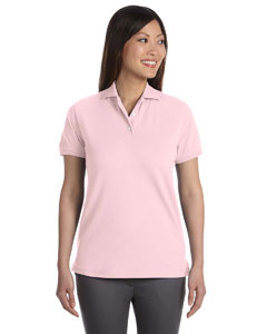 Ladies  Silk-Wash Pique Sport Shirt