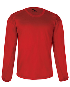 Adult 100% Polyester BT5 Performance Pullover Crewneck Sweatshir