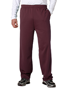 Adult Performance Open-Bottom Fleece Pants