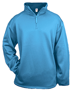 Adult 1/4-Zip Polyester Pullover Fleece