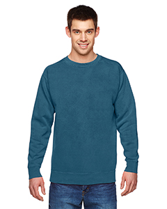 Garment-Dyed Fleece Crew