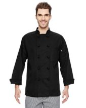 7 oz. Cloth Knot Button Chef Coat