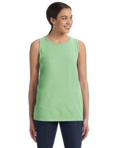 Ladies  5.6 oz. Pigment-Dyed & Direct-Dyed Ringspun Tank
