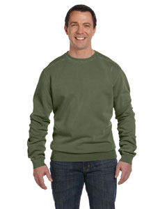 11 oz. Pigment-Dyed Fleece Crew