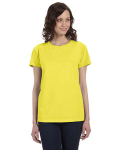 Ladies  5.6 oz. Pigment-Dyed & Direct-Dyed Ringspun T-Shirt