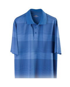 Men's Bamboo Tone On Tone Polo