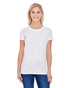 Ladies' Slub Jersey Short-Sleeve Tee