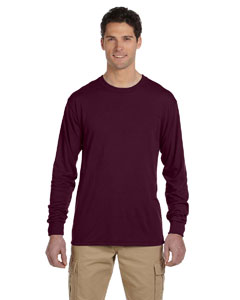5.3 oz. 100% Polyester Long-Sleeve T-Shirt