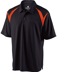 Adult Polyester Pique Laser Polo