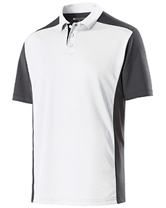 Adult Polyester Closed-Hole Division Polo