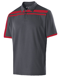 Adult Polyester Closed-Hole Charge Polo