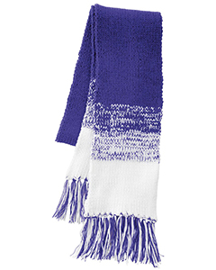 Acrylic Rib-Knit Ascent Scarf