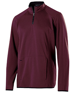 Adult Polyester Fleece 1/4 Zip Artillery Pullover