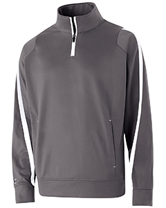 Adult Polyester 1/4 Zip Determination Pullover