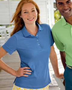 Ladies  6.8 oz. Essentia`Pique Polo