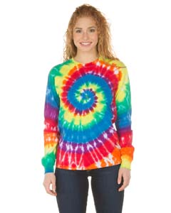 LONG SLEEVE SPIRA@TIEDYE TEE