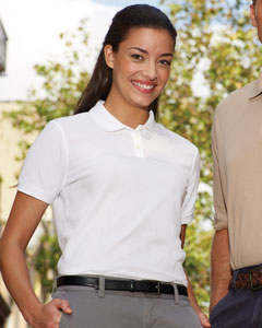 Ladies  5.5 oz. Essentia`Blended Pique Polo