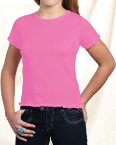 Girls Baby Rib Tiny Tee