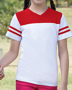 Girls Footbal`Longer Length T-Shirt