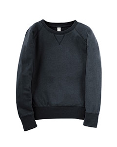 Girls Lightweight French Terry Slouchy Pullover