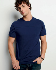 Men's  4.2 oz. Jersey Yoke T-Shirt