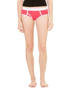 Ladies  6.5 oz. Cotton/Spandex Boyfriend Brief