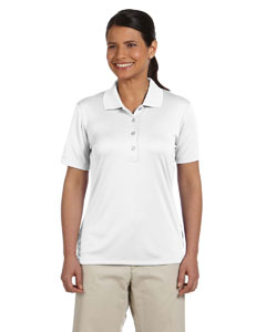 Ladies Performance Interlock Solid Polo