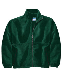 Adult Poly Fleece Ful`Zip Jacket