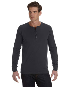 Men's  4.2 oz. Long-Sleeve Jersey Henley