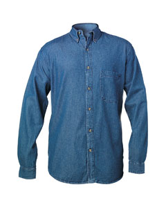 Men's Long Sleeve Denim