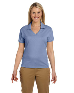Ladies  5.6 oz. 50/50 Jersey Polo with SpotShield™