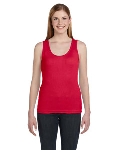 Ladies  Combed Ringspun 2x1 Rib Tank