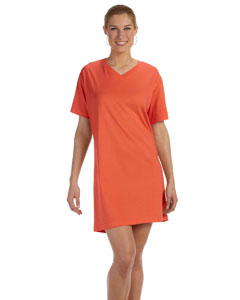 Ladies  Combed Ringspun V-Neck Coverup