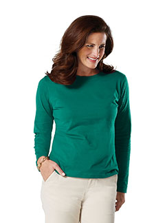 Ladies  Combed Ringspun Long-Sleeve T-Shirt