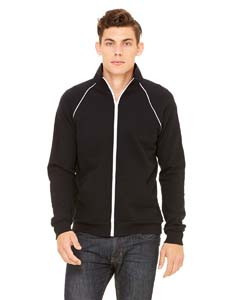 Men's  7.5 oz. Piped Fleece Jacket