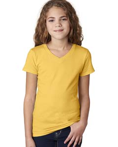 Girls' Adorable V-Neck Tee